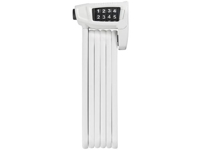 ABUS Bordo Combo Lite 6150/85 Candado Plegable, white